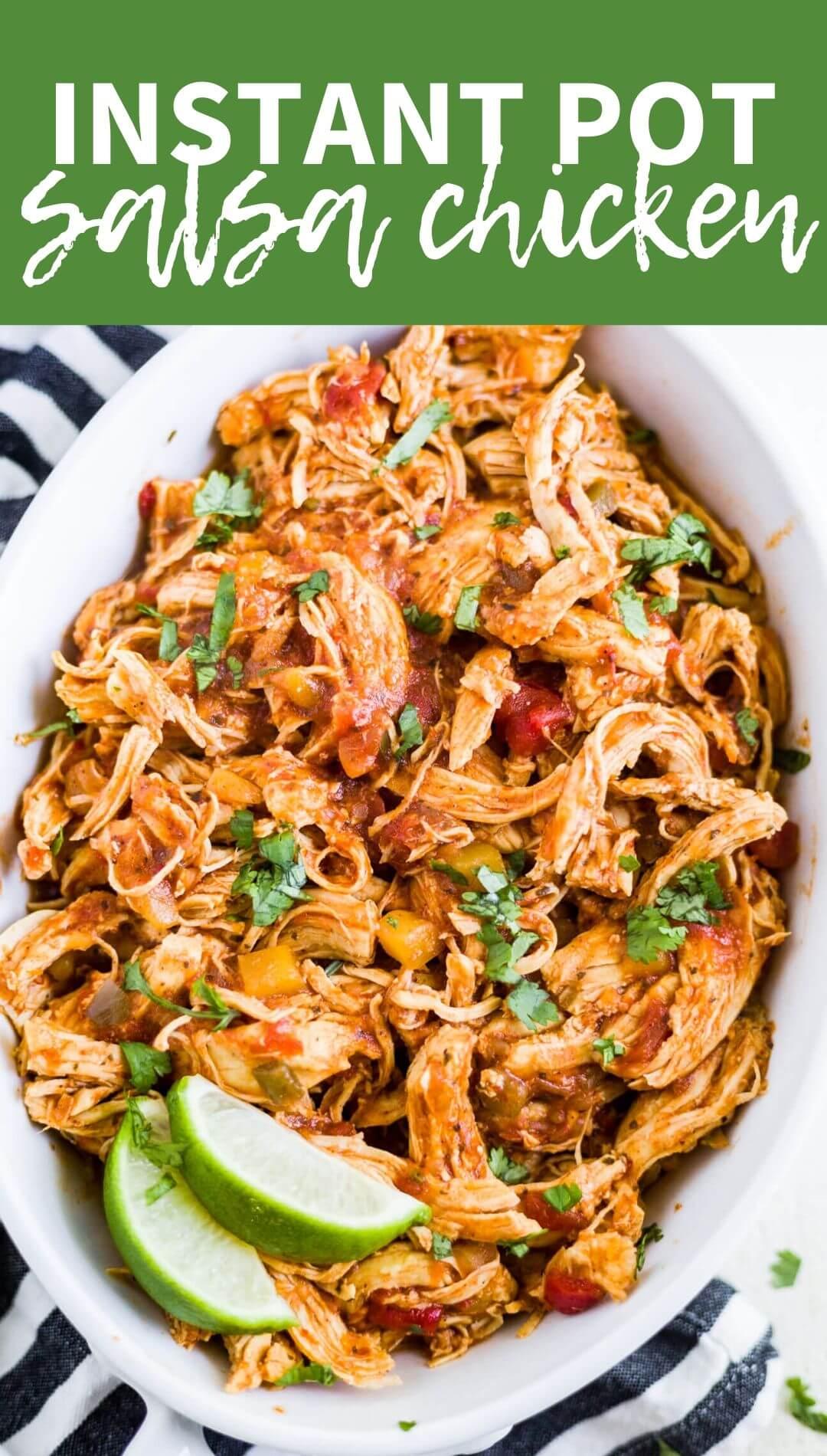 salsa chicken recipe instant pot