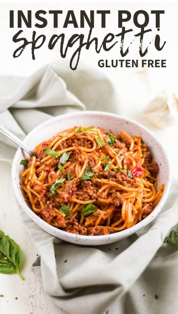 instant pot spaghetti recipe