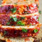 Gluten Free Turkey Meatloaf [Paleo]