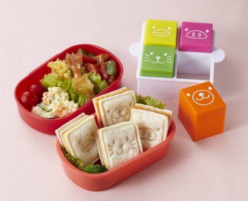 Torune Bento Sandwich Cutter Mold, Animal Face