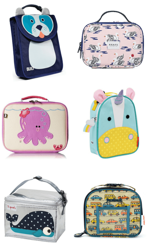 Preschool Lunch Bags & Lunch Boxes