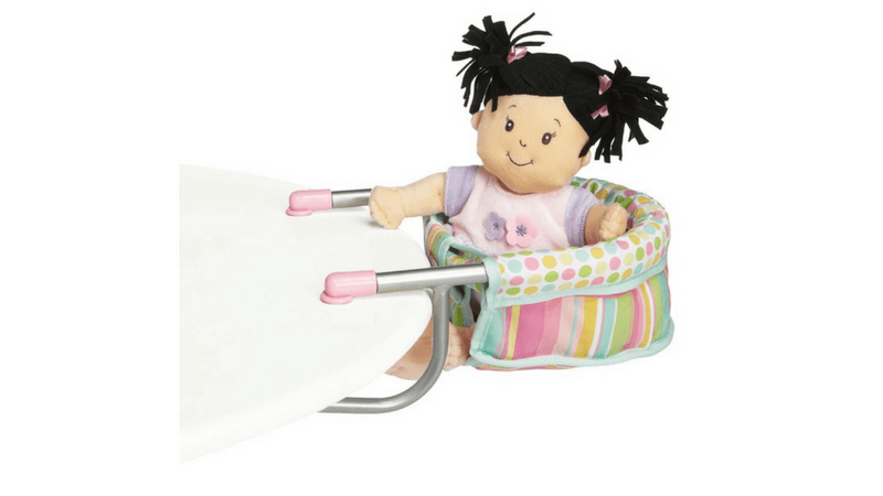 Gift Guide Best Toys for Doll Lovers - Doll Clip-on High Chair