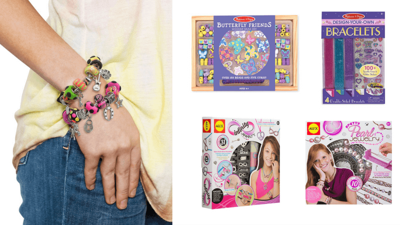 Best Non-Toy Gifts for Kids - Hobbies & Interests - Jewelry Making Kits