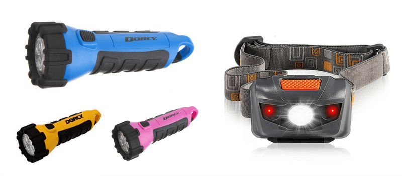 Best Non-Toy Gifts for Kids - Flashlight and Headlamp