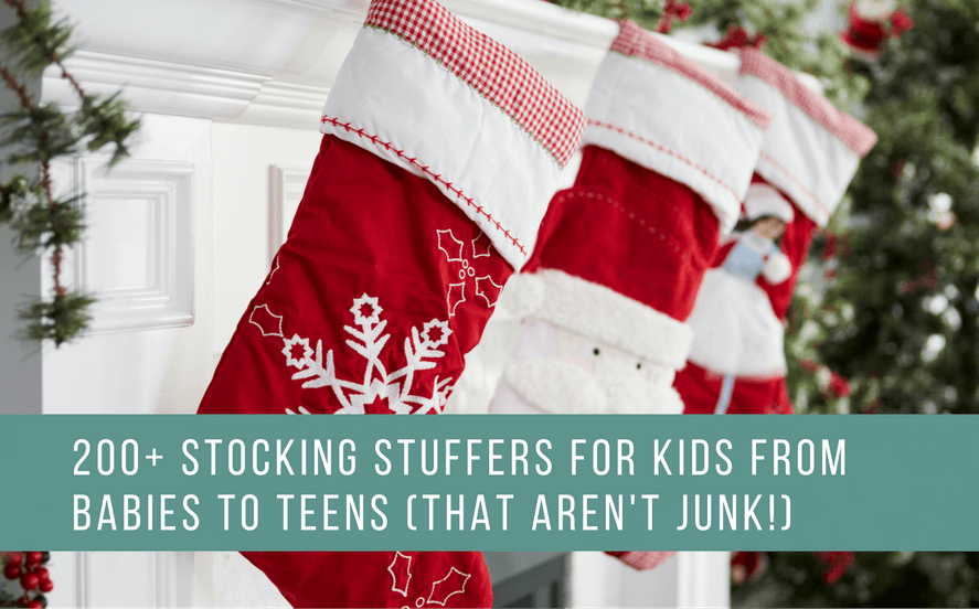 Best Stocking Stuffers For Kids | Small Gift Ideas For Babies, Toddlers, Tweens & Teens