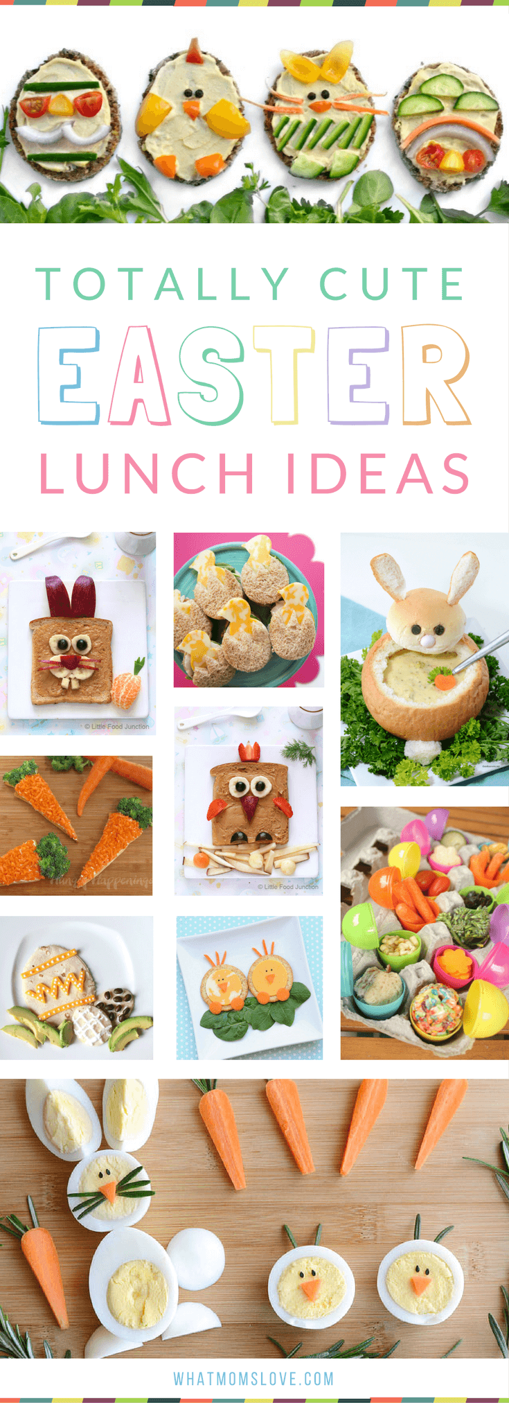 Easter Food Ideas for Kids | Lunch recipes that are healthy, fun and easy to make for your children