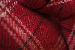 Red-wool-plaid-tie-(close-up)