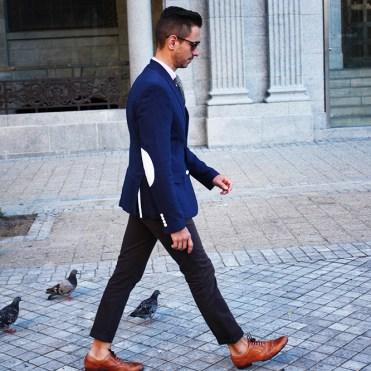 side-walking