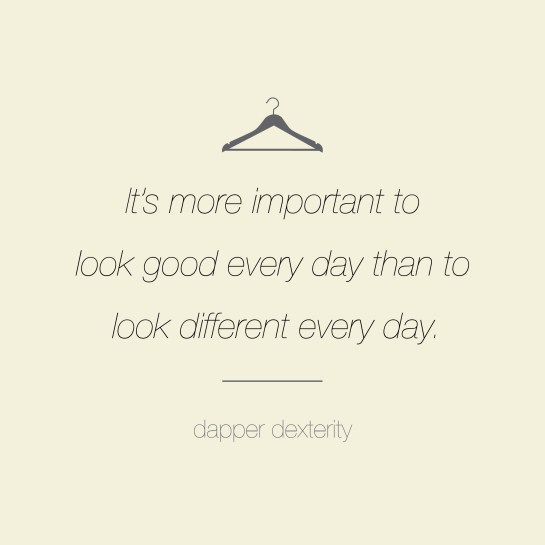 Dapper dexterity - different
