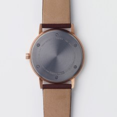 152 Series - Rose gold and Walnut - back