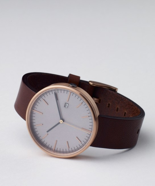 203 Series - Rose gold and walnut