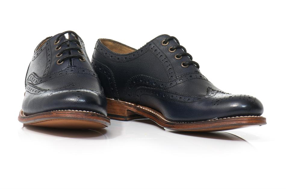 Blue Brogues