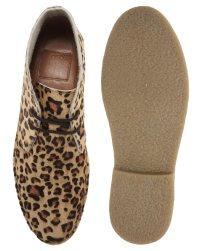 Desert Boots in Leopard Print