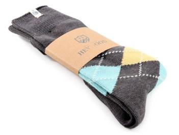 Argyle Smoke Socks