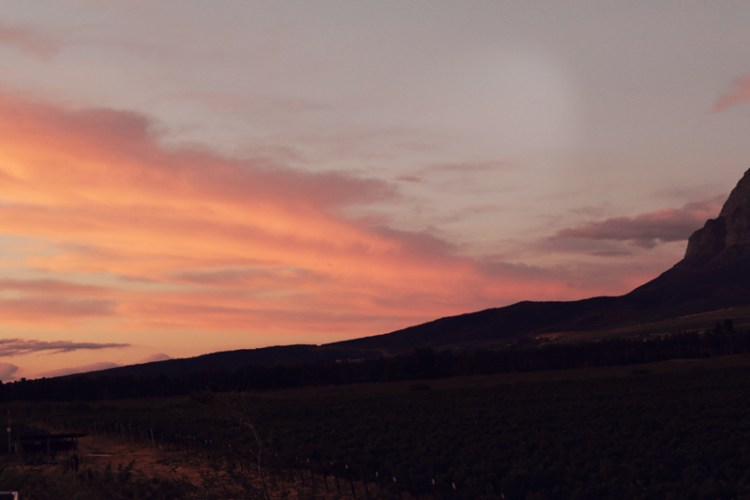 Rico Suter Country House - sunset