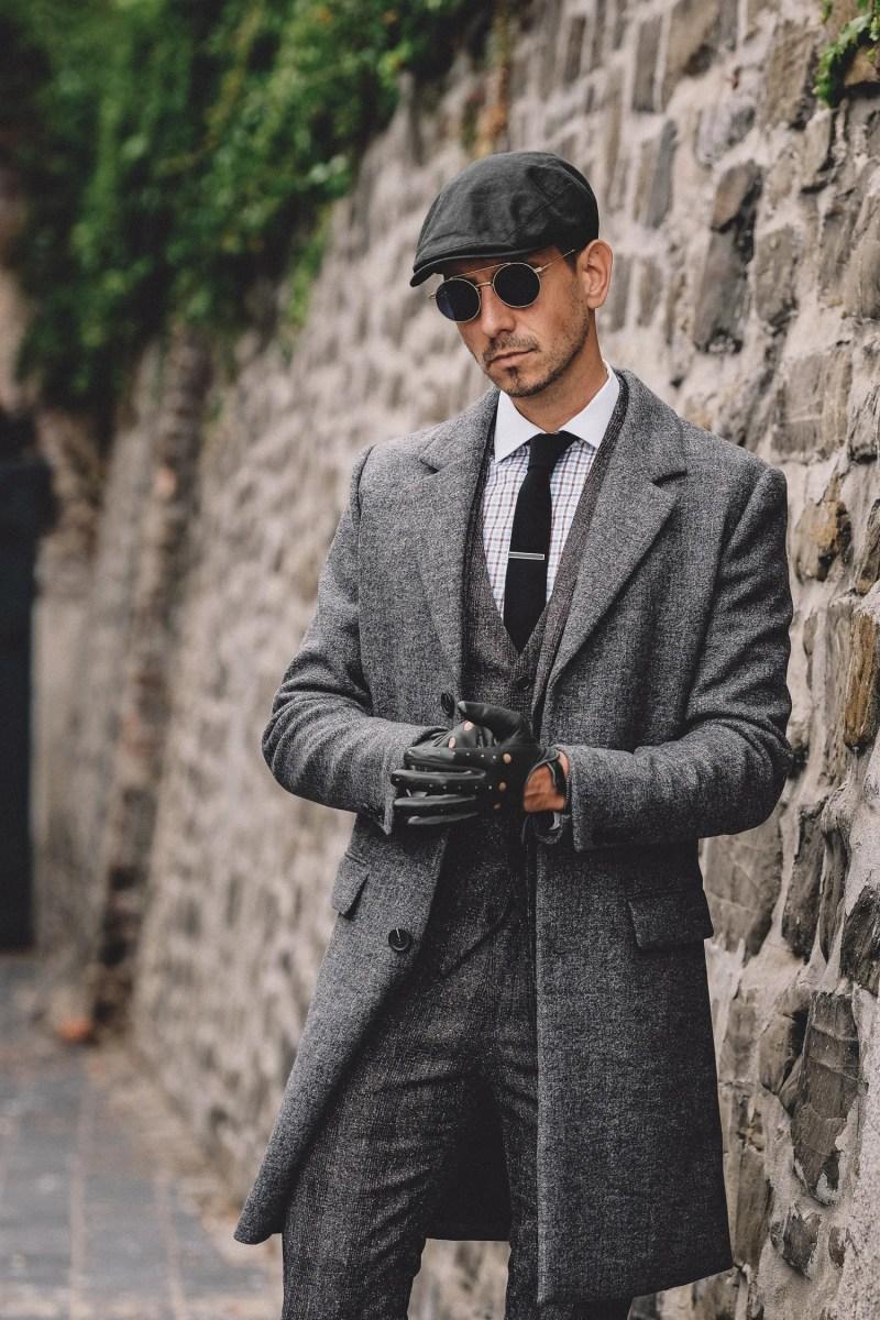 Newsboy-Stil Peaky Blinders Schieberm/ütze