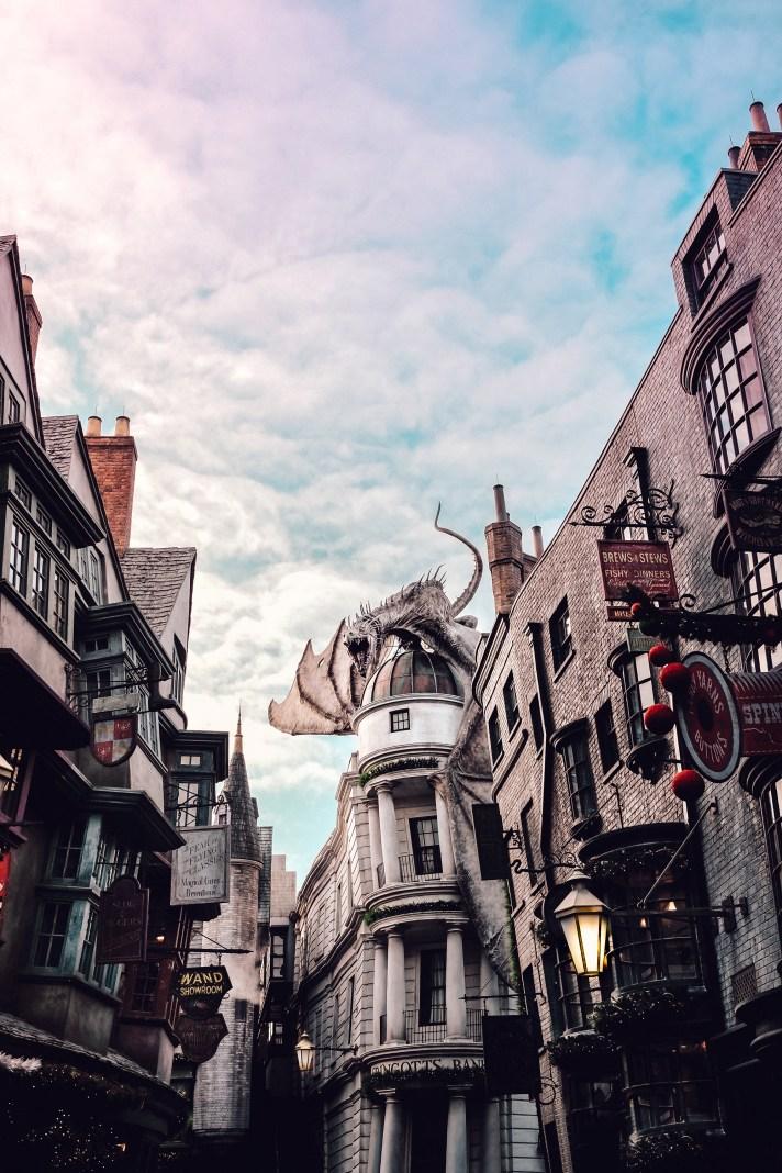 Diagon Alley Universal Studios Florida