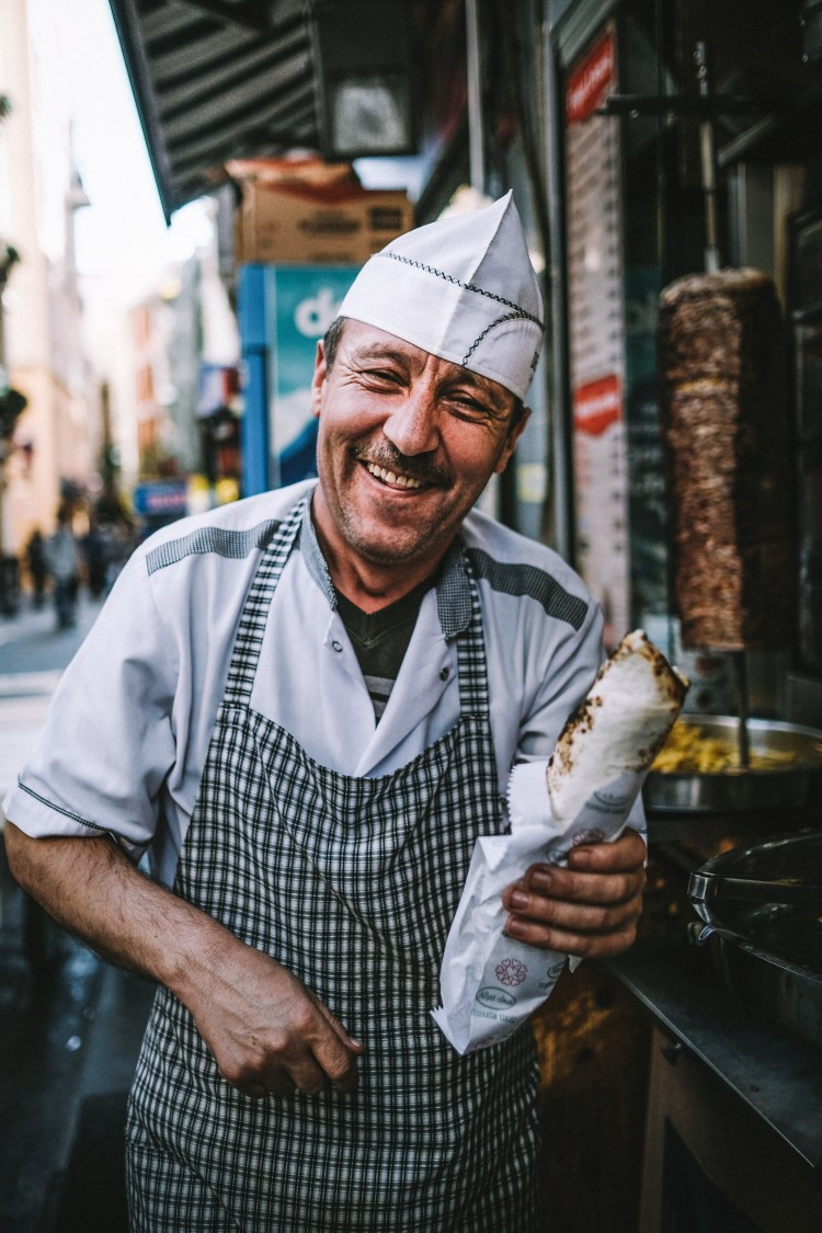 Istanbul-Doner-vendor