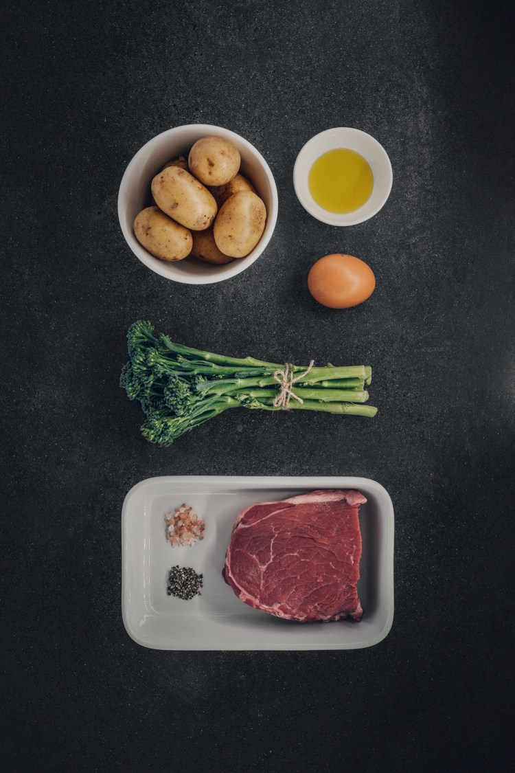 Steak-egg-and-chips---Flat-Lay-(P)