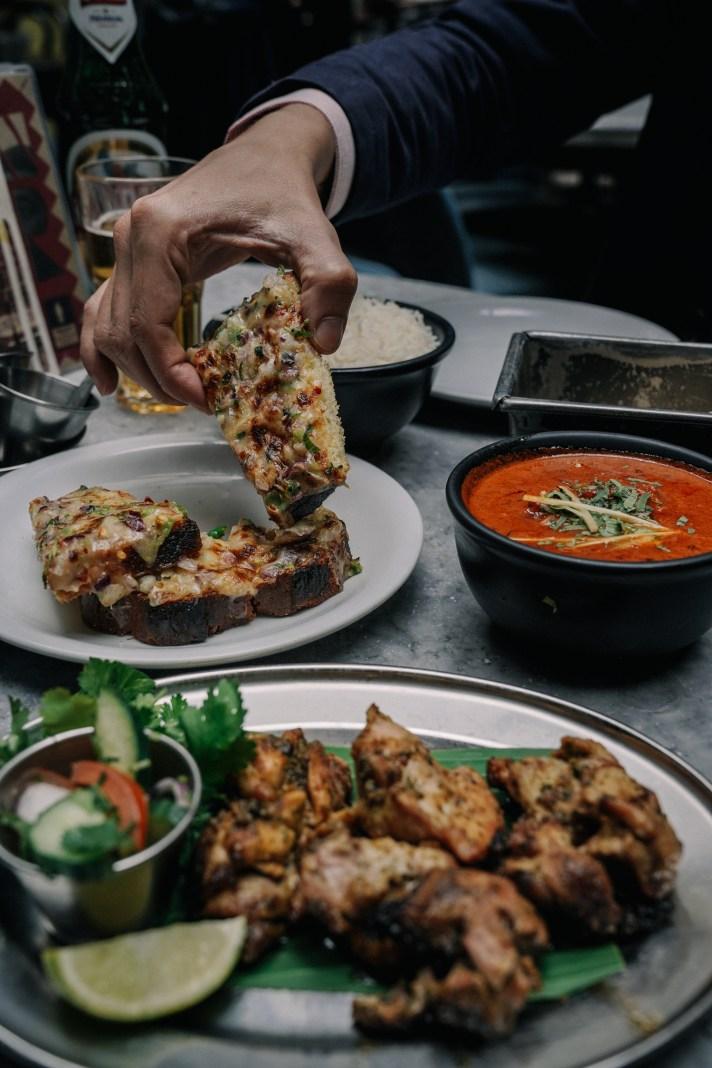 Lodon---Dishoom-Table-of-food