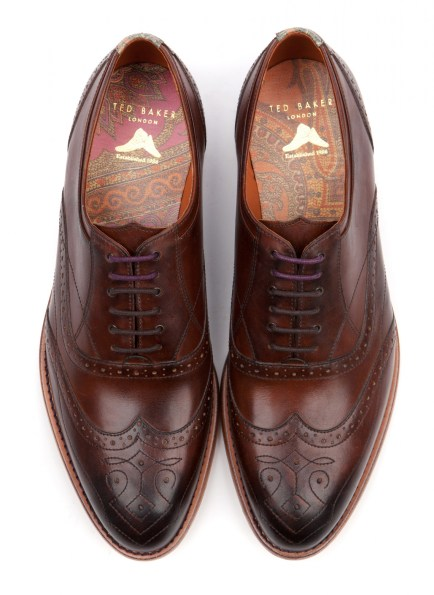 DELSIN - CHUNKY LACE UP BROGUE