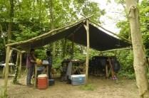 The kitchen shelter