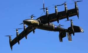 Elektryczny samolot NASA wzbija się w powietrze