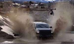 Filmowcy zamontowali kamerę 4K do drona