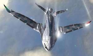 Zapierająca dech w piersiach wizja samolotu przyszłości