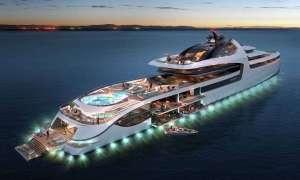 Admiral X Force 145 – najdroższy luksusowy mega-jacht na świecie