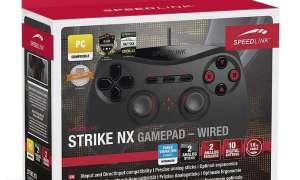 Test gamepada SpeedLink Strike NX