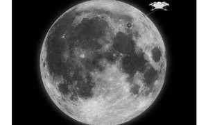 Pomysł na pogrzeb: Za 9 950 dolarów rozrzucą Twoje prochy na Księżycu