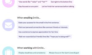 Crystal podpowie Ci jak pisać do danej osoby
