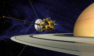 Sonda Cassini opuszcza Enceladusa
