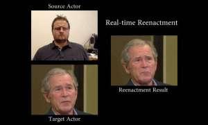 Rekonstrukcja ruchu twarzy w czasie rzeczywistym? Nic prostszego, wystarczy kamera internetowa