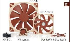 Test nowych wentylatorów Noctua z serii A oraz akcesoriów