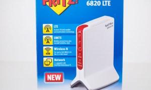 Test modemu Fritz!Box 6820 LTE