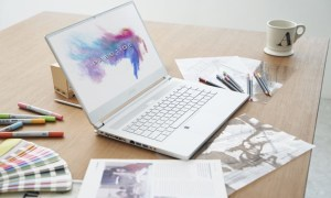 "MSI P65 Creator posiada biznesowy ""look"" rodem z Mac Booka"