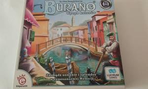 Recenzja gry planszowej Burano