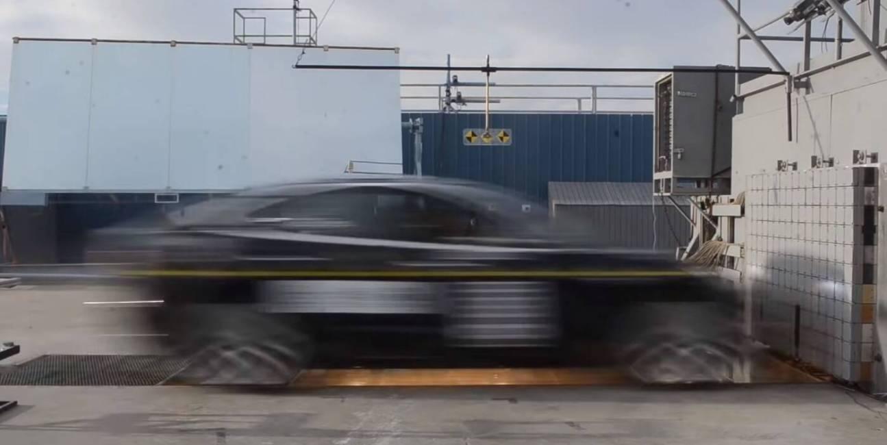 Tesla, Model 3, Model, samochód elektryczny, Tesla Model 3, testy bezpieczeństwa, bezpieczeństwo, testy zderzeniowe