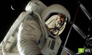 Demo Apollo 11 z technologią Nvidia RTX