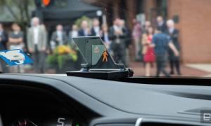 System Hondy ostrzega kierowce o zbliżającym się zagrożeniu
