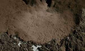 Krater uderzeniowy na Grenlandii jest ukryty pod warstwą lodu