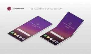 Patent LG dotyczący składanego smartfona