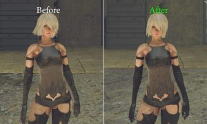 Mod do Nier Automata znacznie podnosi jakość tekstur!