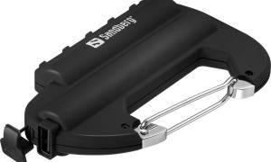 Test Sandberg Carabiner Powerbank 6000