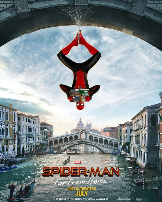 Najnowsze plakaty z filmu Spider-Man: Far From Home