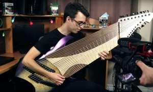 Najbardziej metalowa gitara z… 20 strunami!
