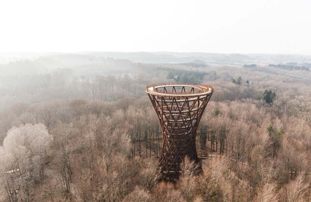 Wieża widokowa Camp Adventure