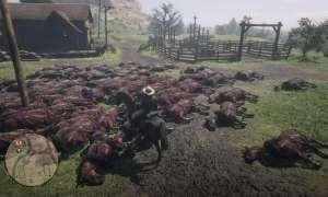 Martwe konie w Red Dead Online przerażają graczy